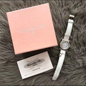Pre-loved Alessandra Olla Firenze Rhinestone Watch